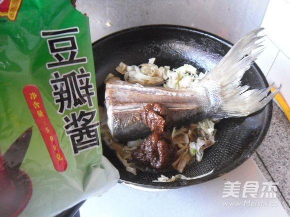 豆瓣鱼尾怎么煮