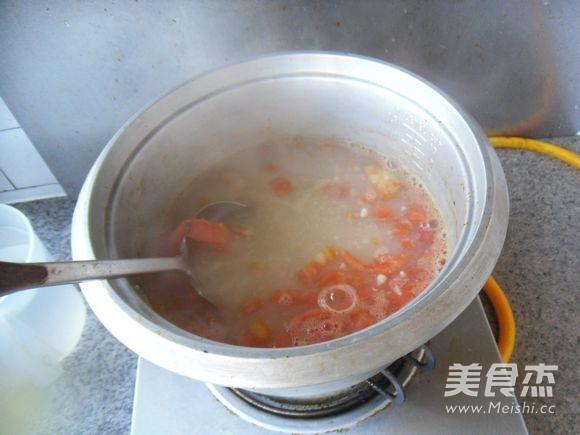 番茄玉米羹怎么煮