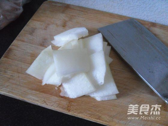 羊肉片冬瓜汤的做法图解