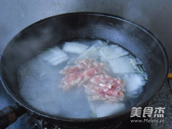 羊肉片冬瓜汤怎么炒