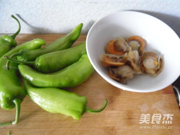 青辣椒炒鲜贝的做法大全