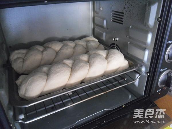 夹馅辫子面包的步骤