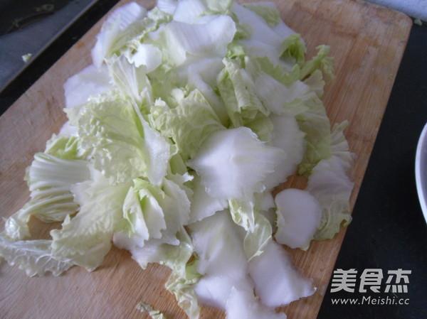 香菇白菜片的做法图解