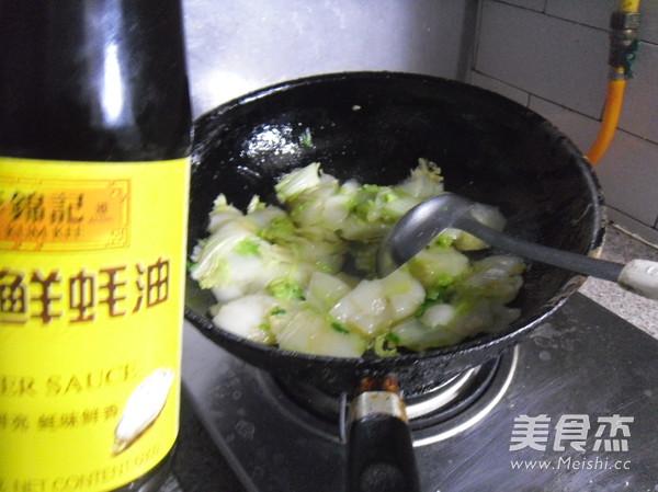 香菇白菜片怎么煮