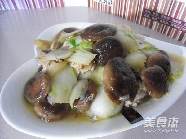 香菇白菜片怎样做