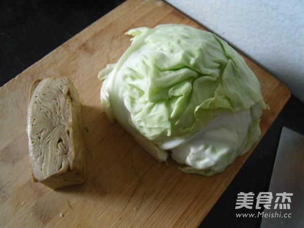 圆白菜炒豆腐干的做法大全