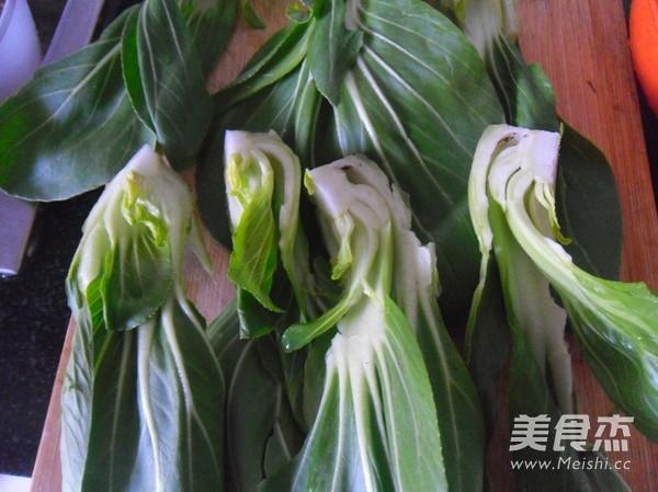 香菇油菜的家常做法