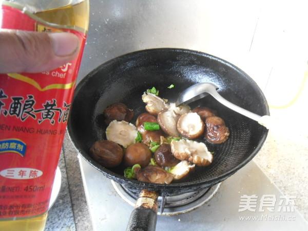 香菇油菜怎么煮