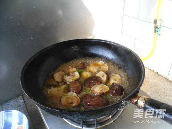 香菇油菜怎么煸