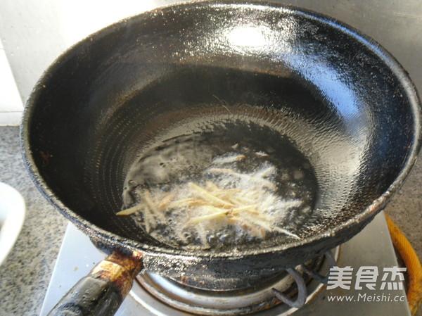 姜丝菜心怎么吃