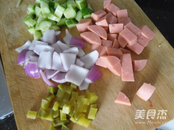 煎炒馒头丁怎么吃