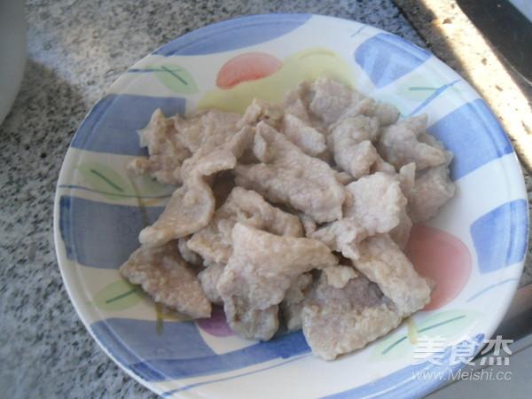 鲜蘑肉片怎么煮