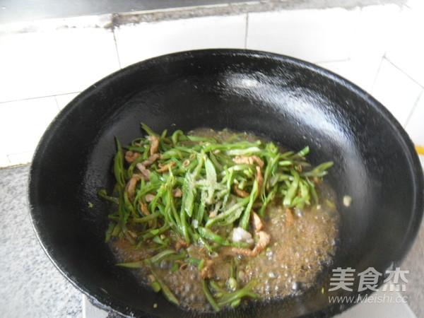 里脊肉炒扁豆丝怎么煮