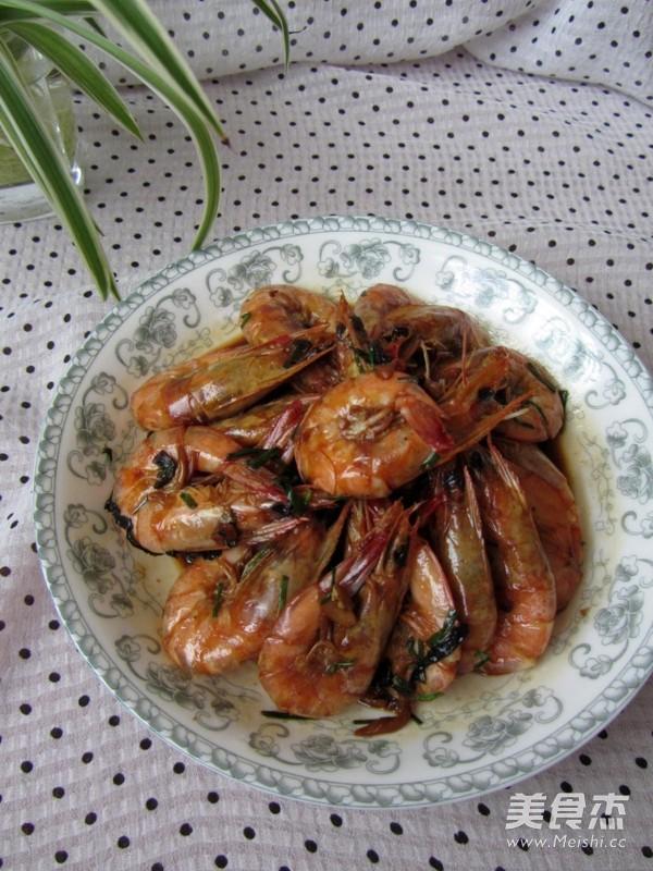红烧对虾怎样煮