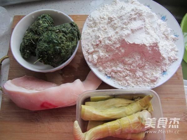 荠菜笋尖猪肉饺的做法大全