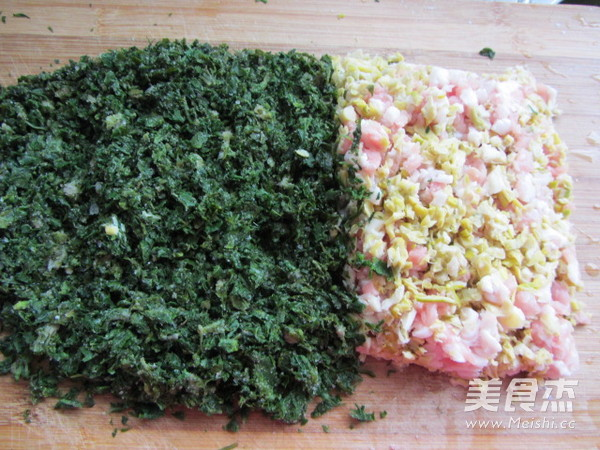 荠菜笋尖猪肉饺怎么炒