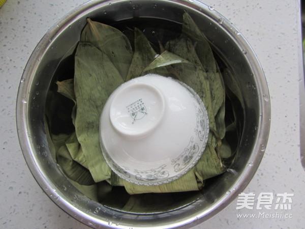 尖角素粽子的做法图解