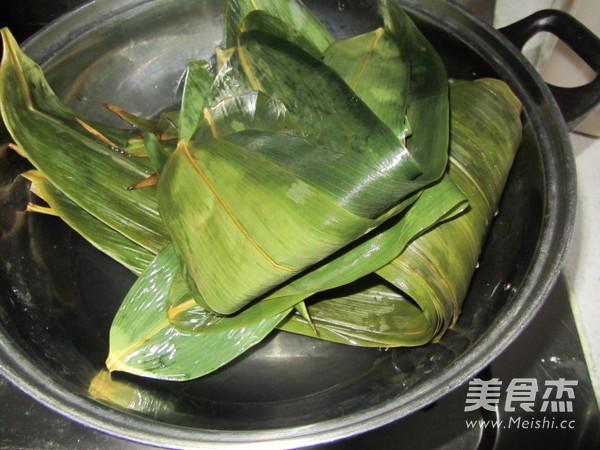 尖角素粽子的家常做法