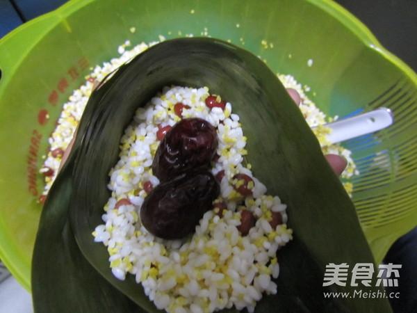 尖角素粽子怎么煮