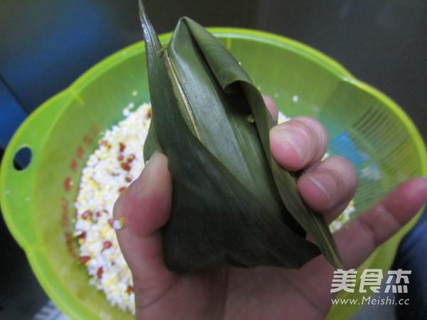 尖角素粽子怎样煸