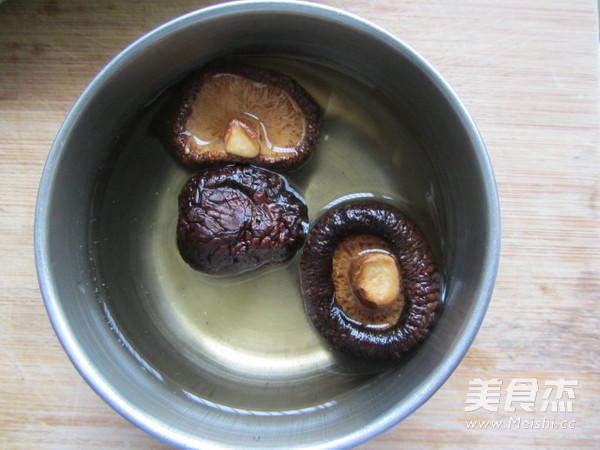 香菇鸡蛋汤面的做法图解
