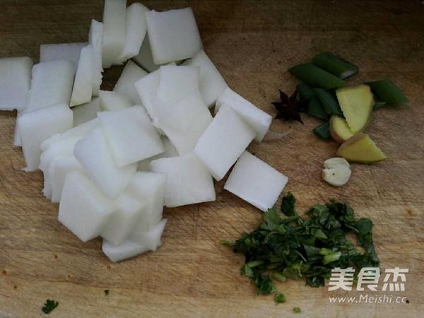 牛肉丸子氽冬瓜的简单做法