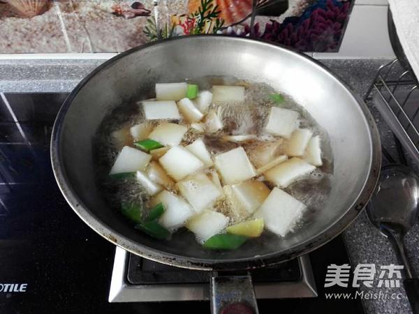 牛肉丸子氽冬瓜怎么炒