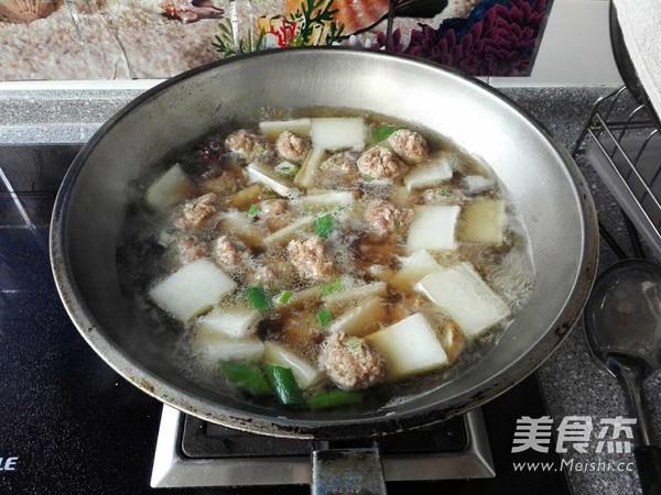牛肉丸子氽冬瓜怎么煮