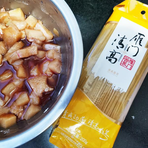 中式意大利面-石墨玉米面的做法大全