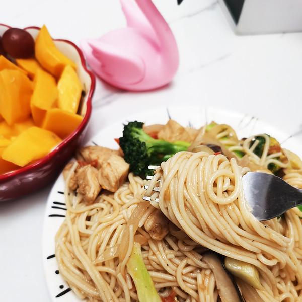 中式意大利面-石墨玉米面怎么做