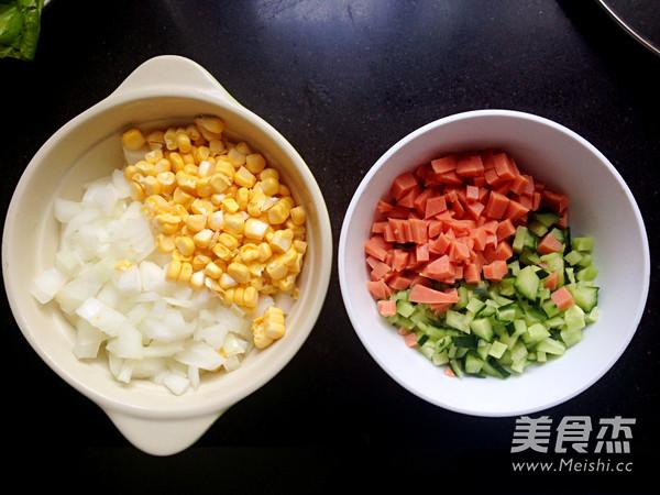 扬州炒米饭的做法大全
