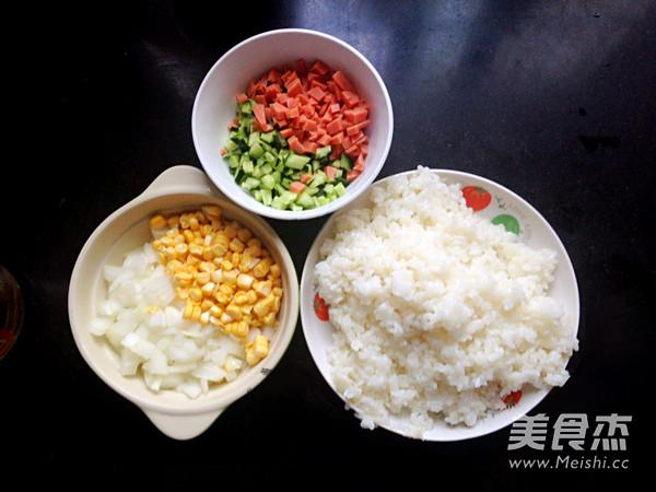 扬州炒米饭的做法图解