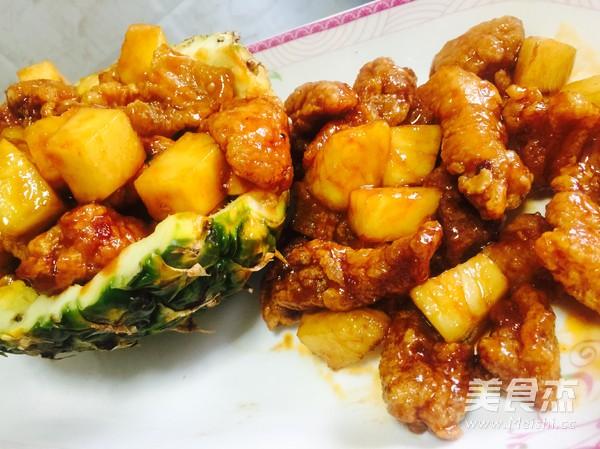 菠萝古老肉成品图