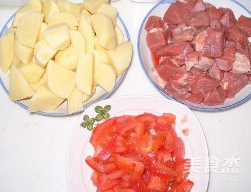 牛肉焖土豆的做法图解