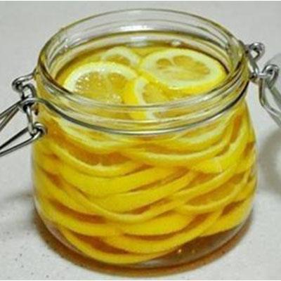 蜂蜜腌柠檬成品图