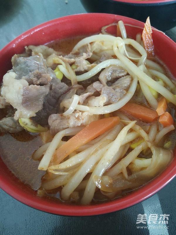 豆芽牛肉汤怎么煮