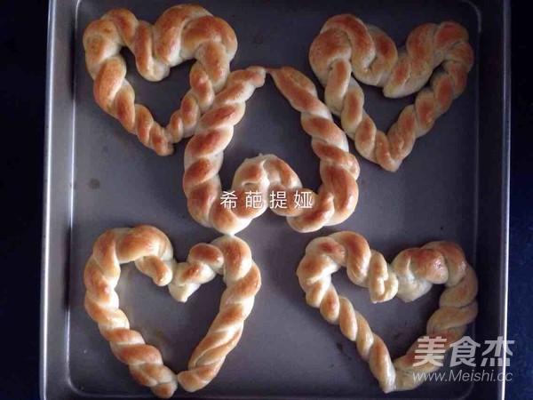 爱心面包怎么炒