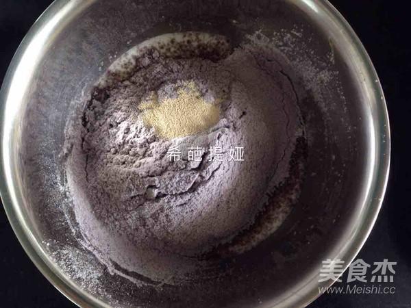黑米糕的简单做法