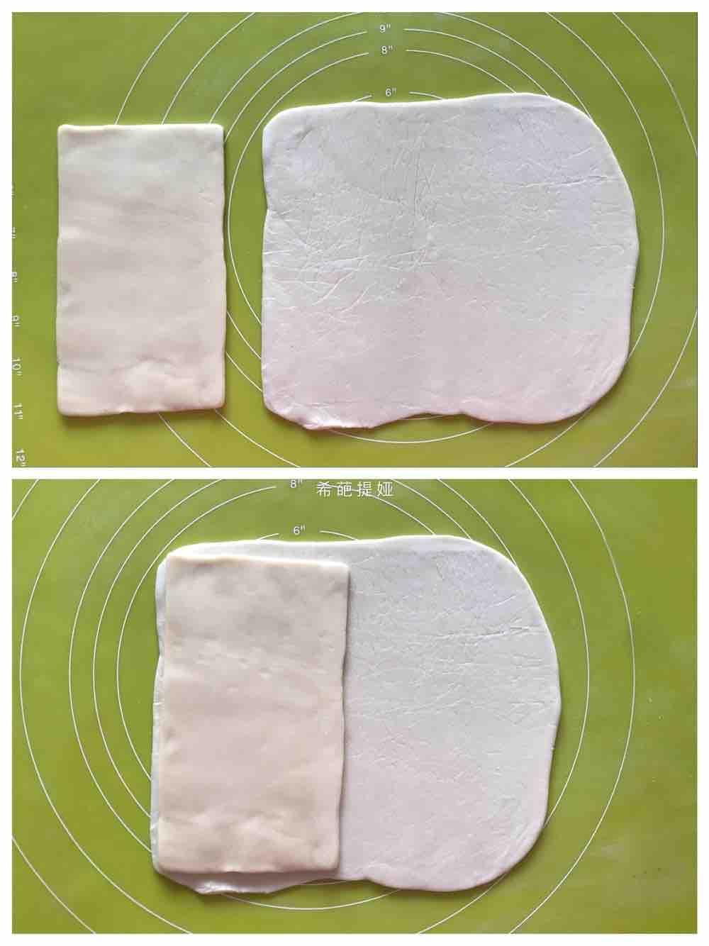 豆沙排叉酥的做法图解