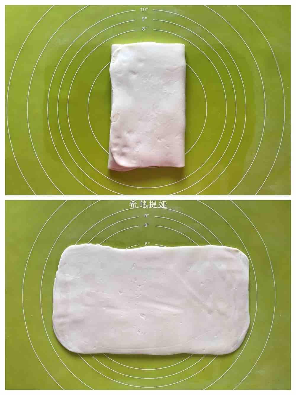 豆沙排叉酥的简单做法