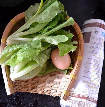 鸡蛋生菜炒挂面的做法大全
