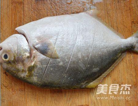 广东清蒸金鲳鱼的做法图解