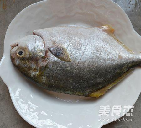 广东清蒸金鲳鱼的家常做法
