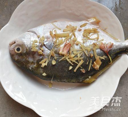 广东清蒸金鲳鱼怎么做