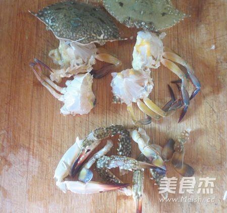 广东姜葱炒蟹的做法图解