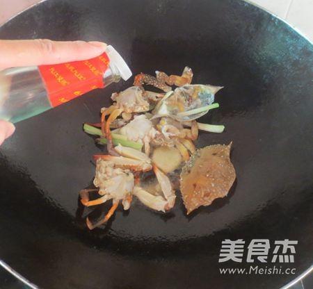 广东姜葱炒蟹怎么做