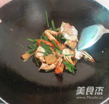广东姜葱炒蟹怎么炖