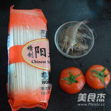 鲜虾番茄挂面的做法大全