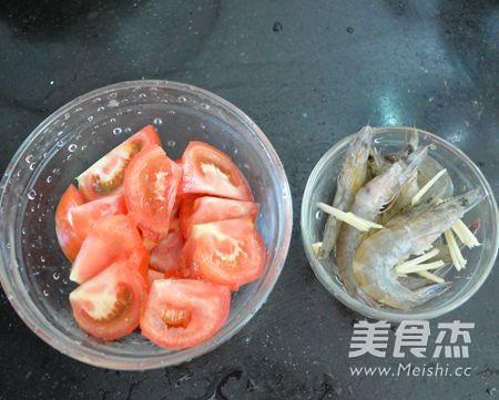 鲜虾番茄挂面的做法图解