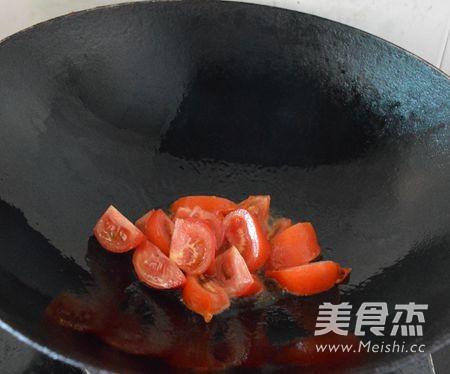 鲜虾番茄挂面怎么吃